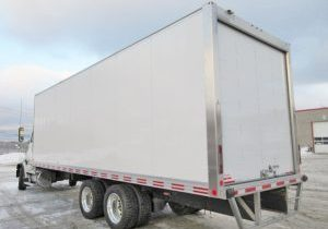 Fourgon transit box for sale